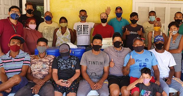 Santa Catarina recebe mais dois grupos de migrantes e refugiados venezuelanos para trabalhar em frigoríficos na região Oeste