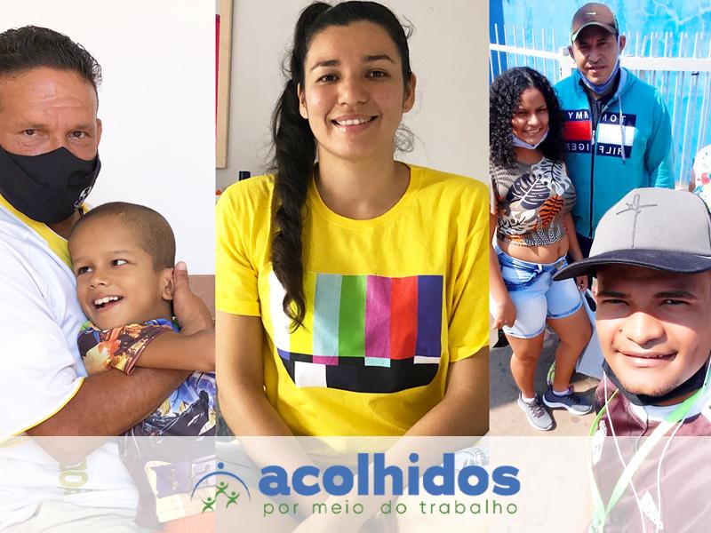 Projeto que incentiva contratação de refugiados e migrantes ultrapassa 500 pessoas acolhidas no Brasil