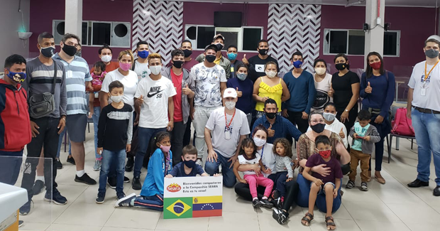 Ipumirim (SC) recebe grupo de refugiados e migrantes venezuelanos para trabalhar na cidade